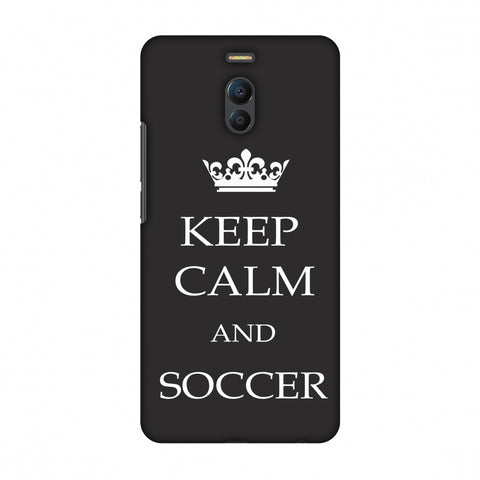 Soccer - Keep Calm And Soccer - Grey Slim Hard Shell Case For Meizu Note 6