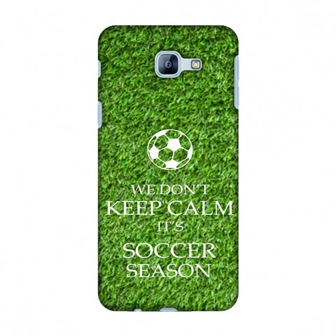 Soccer - We Don't Keep Calm - Green Grass Slim Hard Shell Case For Samsung Galaxy A8 2016