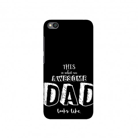Father's Day - Awesome Dad Slim Hard Shell Case For Redmi Go