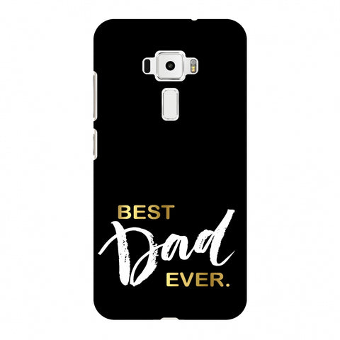 Father's Day - Best Dad Ever Slim Hard Shell Case For Asus Zenfone 3 ZE520KL