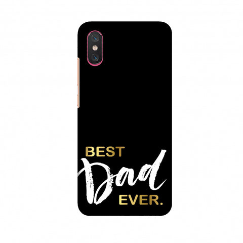 Father's Day - Best Dad Ever Slim Hard Shell Case For Xiaomi Mi 8 Pro