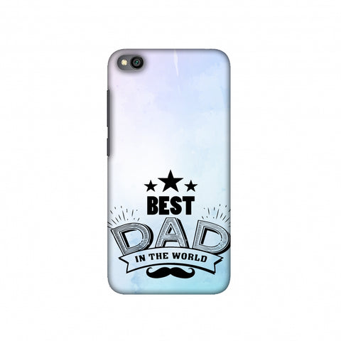 Father's Day - Best Dad In The World Slim Hard Shell Case For Redmi Go