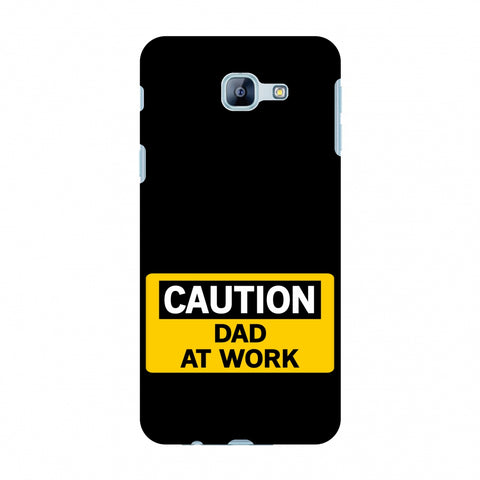 Father's Day - Dad At Work Slim Hard Shell Case For Samsung Galaxy A8 2016