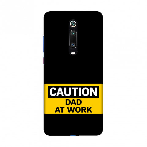 Father's Day - Dad At Work Slim Hard Shell Case For Redmi K20/K20 Pro