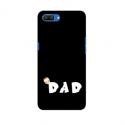 Father's Day - Baby's Dad Slim Hard Shell Case For Oppo Realme C1