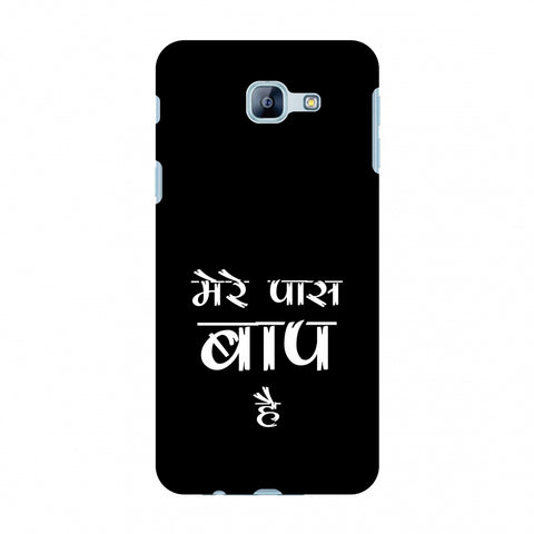 Father's Day - Baap Hai Slim Hard Shell Case For Samsung Galaxy A8 2016
