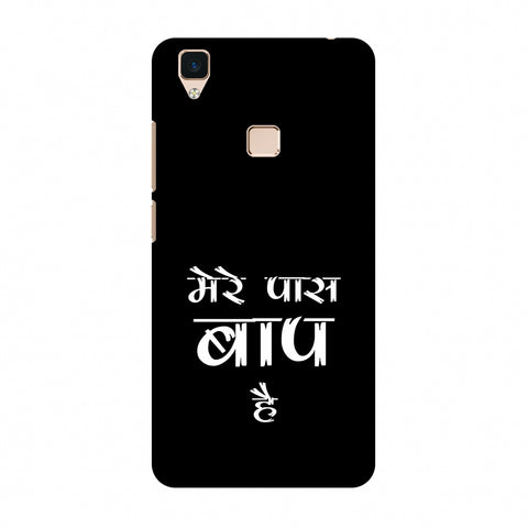 Father's Day - Baap Hai Slim Hard Shell Case For Vivo V3
