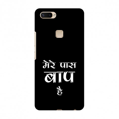 Father's Day - Baap Hai Slim Hard Shell Case For Vivo X20 Plus