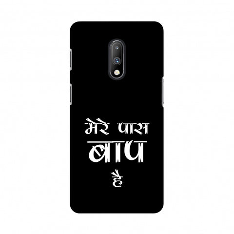 Father's Day - Baap Hai Slim Hard Shell Case For OnePlus 7