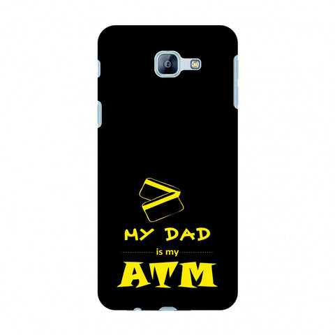 Father's Day - Dad is ATM Slim Hard Shell Case For Samsung Galaxy A8 2016