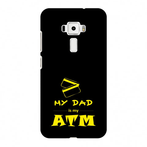 Father's Day - Dad is ATM Slim Hard Shell Case For Asus Zenfone 3 ZE520KL
