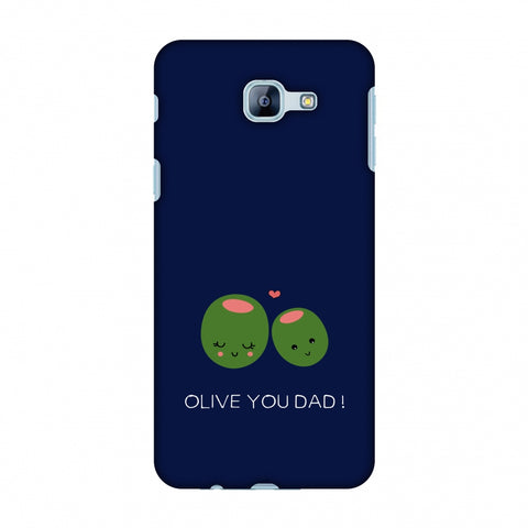 Father's Day - Olive You Dad Slim Hard Shell Case For Samsung Galaxy A8 2016