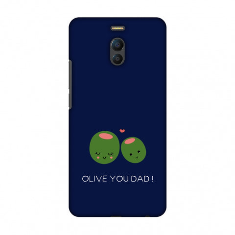 Father's Day - Olive You Dad Slim Hard Shell Case For Meizu Note 6