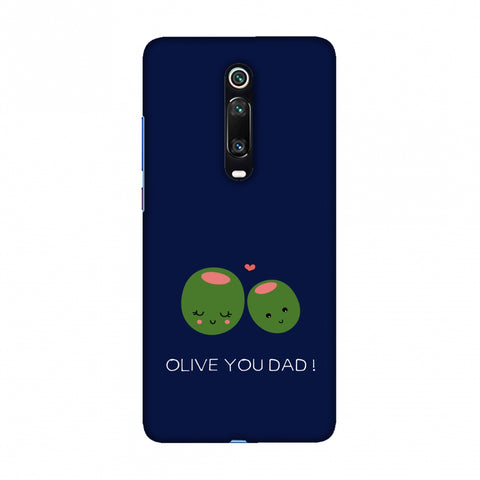 Father's Day - Olive You Dad Slim Hard Shell Case For Redmi K20/K20 Pro