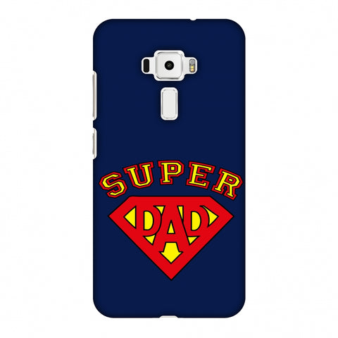 Father's Day - Super Dad Slim Hard Shell Case For Asus Zenfone 3 ZE520KL