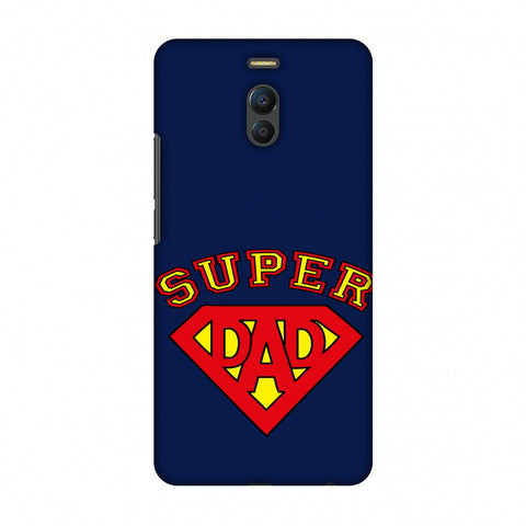 Father's Day - Super Dad Slim Hard Shell Case For Meizu Note 6