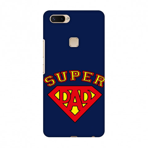 Father's Day - Super Dad Slim Hard Shell Case For Vivo X20 Plus