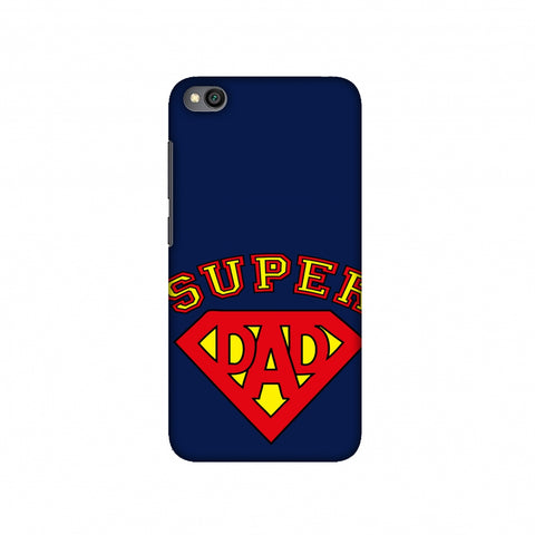 Father's Day - Super Dad Slim Hard Shell Case For Redmi Go