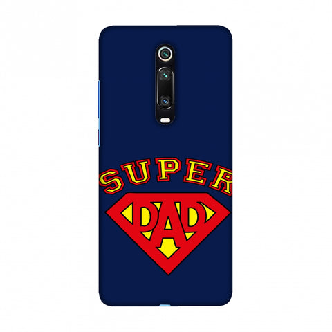 Father's Day - Super Dad Slim Hard Shell Case For Redmi K20/K20 Pro