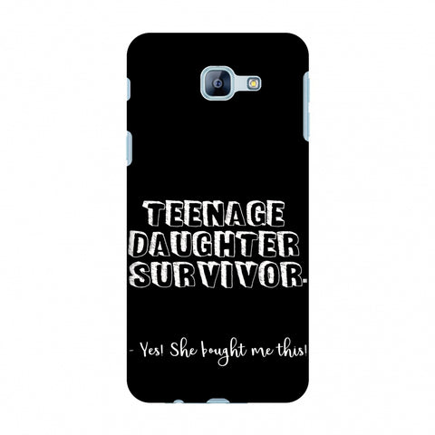 Father's Day - Teenage Daughter Survivor Slim Hard Shell Case For Samsung Galaxy A8 2016