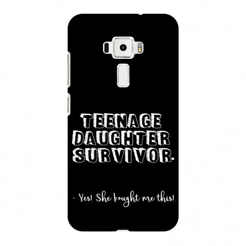 Father's Day - Teenage Daughter Survivor Slim Hard Shell Case For Asus Zenfone 3 ZE520KL