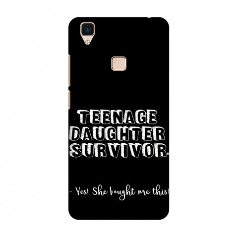 Father's Day - Teenage Daughter Survivor Slim Hard Shell Case For Vivo V3