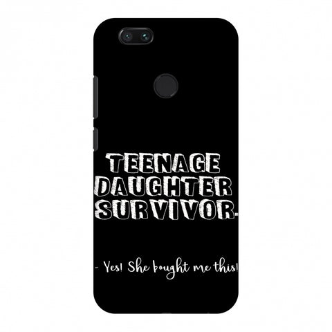 Father's Day - Teenage Daughter Survivor Slim Hard Shell Case For Xiaomi MI A1-5X