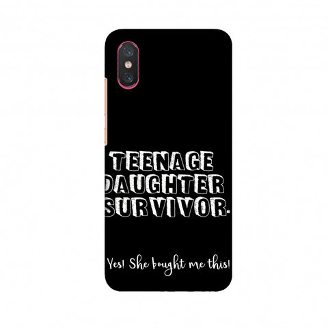 Father's Day - Teenage Daughter Survivor Slim Hard Shell Case For Xiaomi Mi 8 Pro