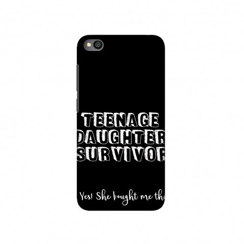 Father's Day - Teenage Daughter Survivor Slim Hard Shell Case For Redmi Go