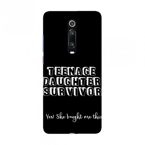 Father's Day - Teenage Daughter Survivor Slim Hard Shell Case For Redmi K20/K20 Pro