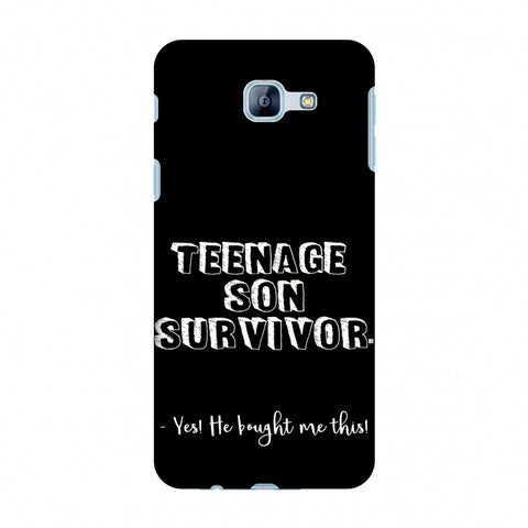 Father's Day - Teenage Son Survivor Slim Hard Shell Case For Samsung Galaxy A8 2016