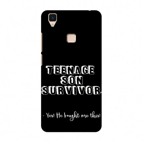 Father's Day - Teenage Son Survivor Slim Hard Shell Case For Vivo V3
