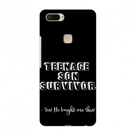 Father's Day - Teenage Son Survivor Slim Hard Shell Case For Vivo X20 Plus