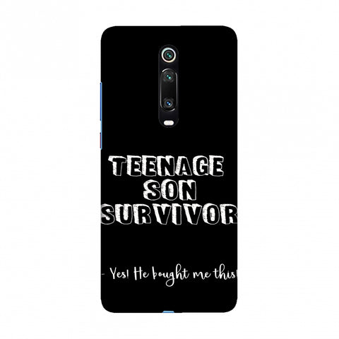 Father's Day - Teenage Son Survivor Slim Hard Shell Case For Redmi K20/K20 Pro