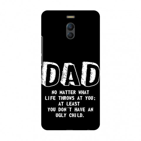 Father's Day - Not An Ugly Child Slim Hard Shell Case For Meizu Note 6
