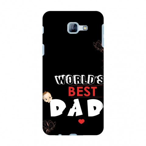 Father's Day - World's Best Dad Slim Hard Shell Case For Samsung Galaxy A8 2016