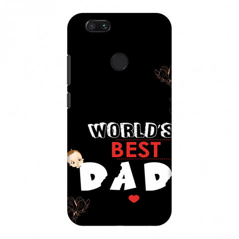 Father's Day - World's Best Dad Slim Hard Shell Case For Xiaomi MI A1-5X