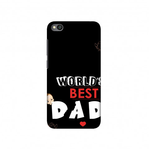 Father's Day - World's Best Dad Slim Hard Shell Case For Redmi Go