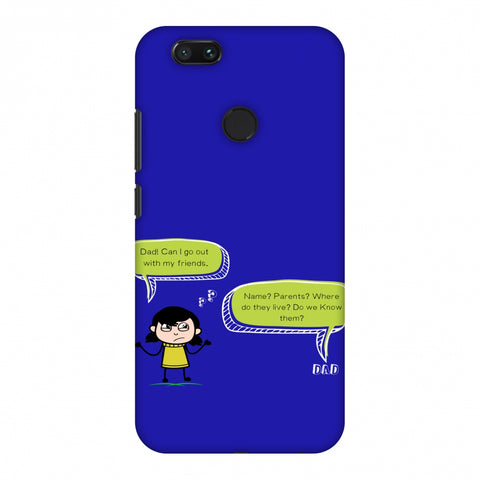 Father's Day - Desi Dad Quotes Slim Hard Shell Case For Xiaomi MI A1-5X