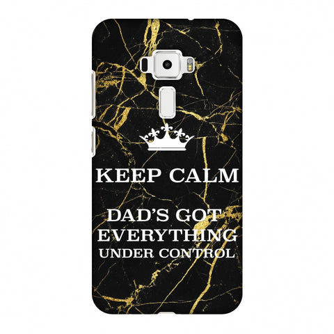 Father's Day - Keep Calm Slim Hard Shell Case For Asus Zenfone 3 ZE520KL