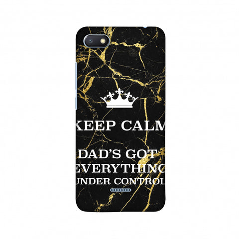 Father's Day - Keep Calm Slim Hard Shell Case For Xiaomi Redmi 6A
