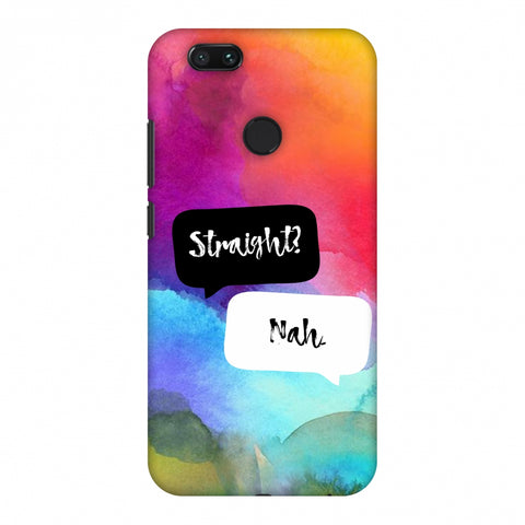 Straight? Nah. Slim Hard Shell Case For Xiaomi MI A1-5X