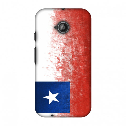 Love For Chile Slim Hard Shell Case For Motorola Moto E 2nd Gen