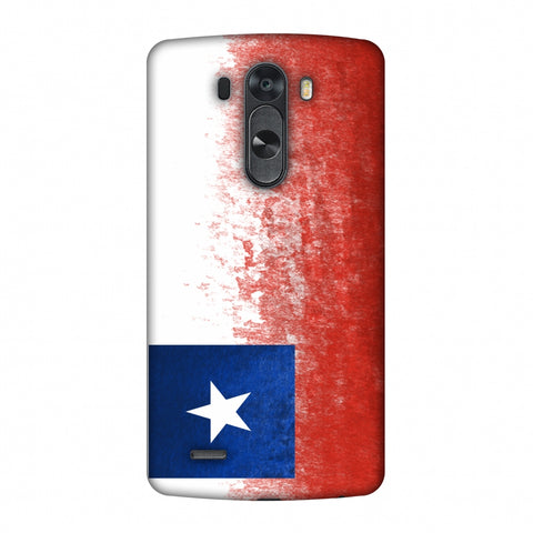 Love For Chile Slim Hard Shell Case For LG G4