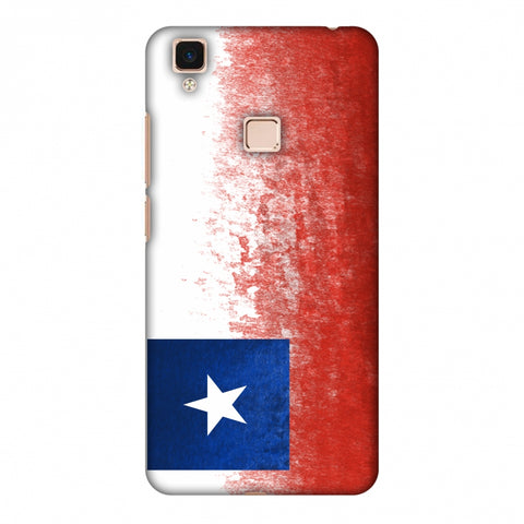 Love For Chile Slim Hard Shell Case For Vivo V3 Max