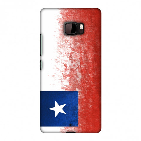 Love For Chile Slim Hard Shell Case For HTC U Ultra