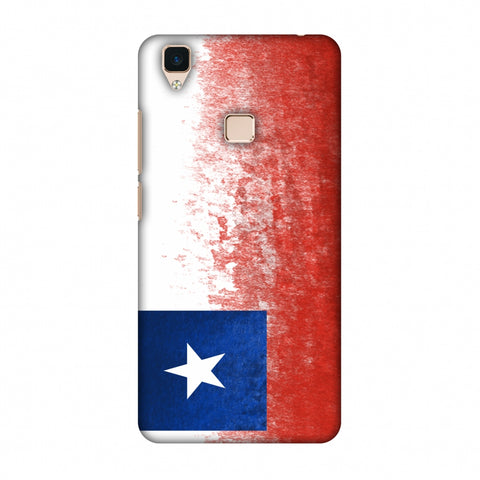 Love For Chile Slim Hard Shell Case For Vivo V3