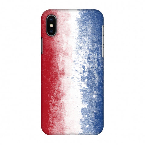 Love For Netherlands Slim Hard Shell Case For Apple iPhone X