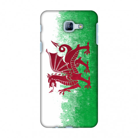Love For Wales Slim Hard Shell Case For Samsung Galaxy A8 2016