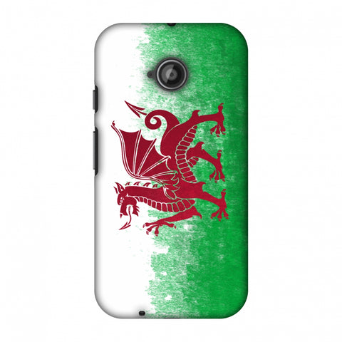 Love For Wales Slim Hard Shell Case For Motorola Moto E 2nd Gen